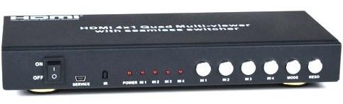 SPLITMUX-C5HDR-4LC (Front & Back)