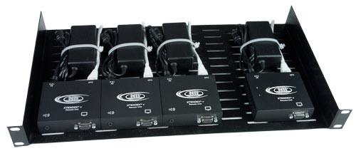 General Purpose 1RU Rack Tray with NTI Extenders