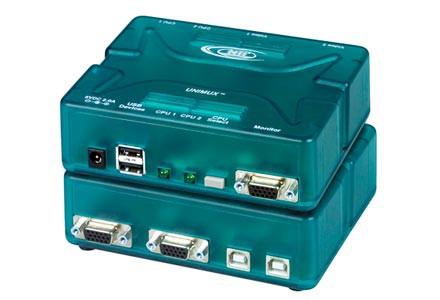 2 port USB KVM switch