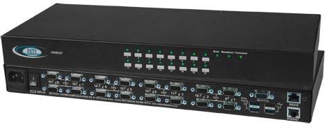 UNIMUX-USBV-16HDUT (Front & Back)