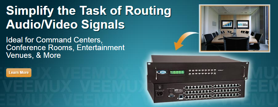 Simplify the Task of Routing Audio/Video Signals